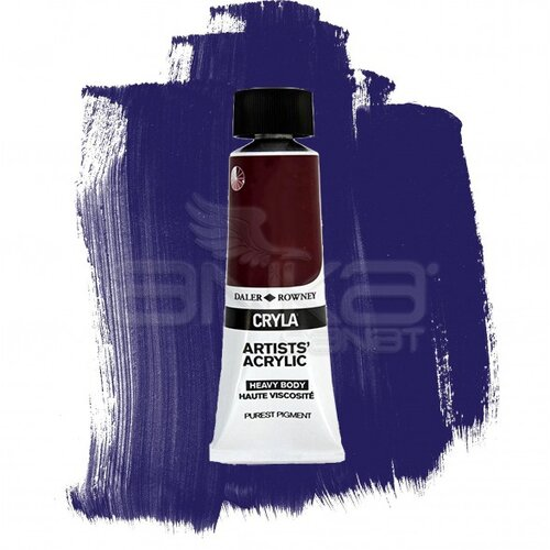 Daler Rowney Cryla Artist Akrilik Boya 75ml 419 Ultramarine Violet Seri A - 419 Ultramarine Violet
