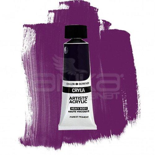 Daler Rowney Cryla Artist Akrilik Boya 75ml 430 Permanent Violet Seri C - 430 Permanent Violet