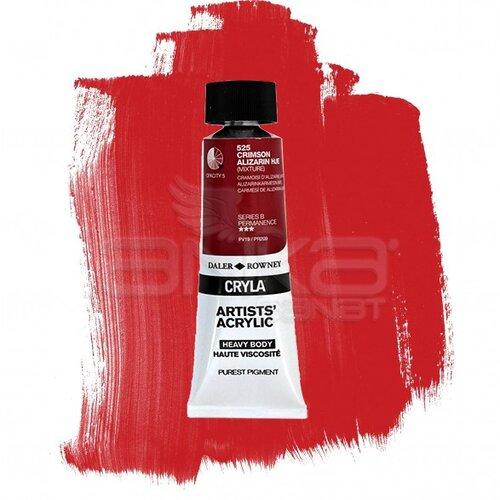 Daler Rowney Cryla Artist Akrilik Boya 75ml 525 Crimson Alizarin Hue Seri B - 525 Crimson Alizarin Hue