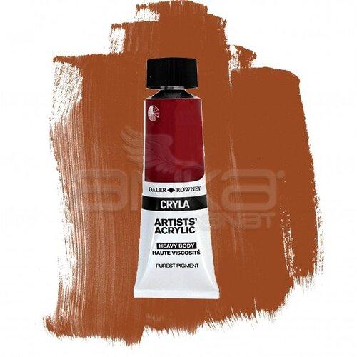 Daler Rowney Cryla Artist Akrilik Boya 75ml 527 Light Red Oxide Seri A - 527 Light Red Oxide