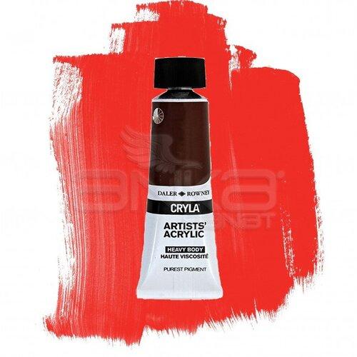 Daler Rowney Cryla Artist Akrilik Boya 75ml 585 Pyrrole Scarlet Seri D - 585 Pyrrole Scarlet