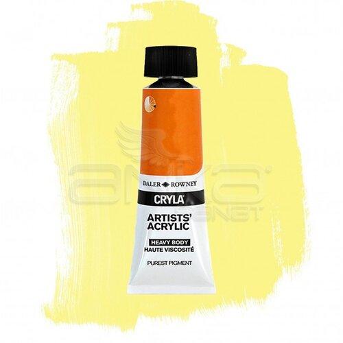 Daler Rowney Cryla Artist Akrilik Boya 75ml 637 Nickel Titanate Yellow Seri B - 637 Nickel Titanate Yellow
