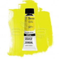 Daler Rowney - Daler Rowney Cryla Artist Akrilik Boya 75ml 651 Lemon Yellow Seri B