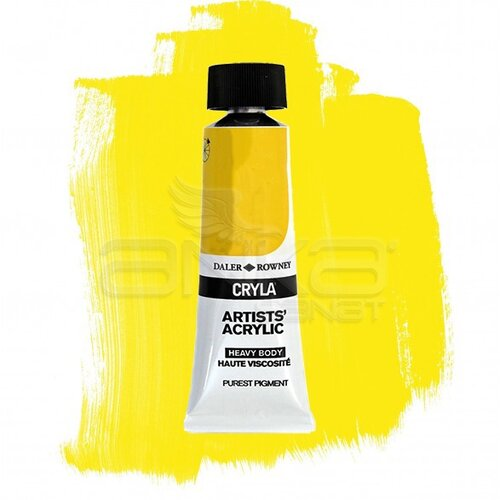 Daler Rowney Cryla Artist Akrilik Boya 75ml 675 Primary Yellow Seri B - 675 Primary Yellow