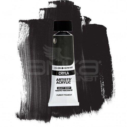 Daler Rowney Cryla Artist Akrilik Boya 75ml 716 Metallic Black Seri B - 716 Metallic Black