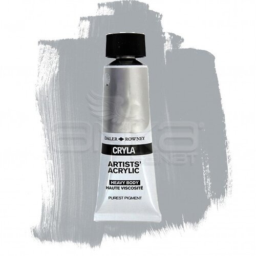 Daler Rowney Cryla Artist Akrilik Boya 75ml 717 Metallic White Seri B - 717 Metallic White