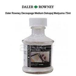 Daler Rowney - Daler Rowney Decoupage Medium Dekopaj Medyumu 75ml