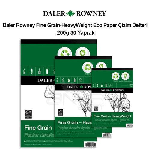 Daler Rowney Fine Grain-HeavyWeight Eco Paper Çizim Defteri 200g 30 Yaprak
