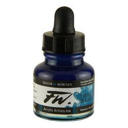Daler Rowney - Daler Rowney FW Acrylic Artist Ink 29.5ml Cam Şişe Marine Blue 151