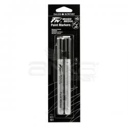 Daler Rowney - Daler Rowney FW Mixed Media Paint Marker Sets 101 0,8mm Teknik Uç (S)