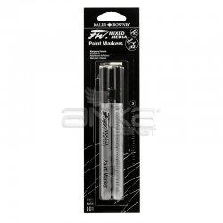 Daler Rowney - Daler Rowney FW Mixed Media Paint Marker Sets 101 0,8mm Teknik Uç (S) (1)