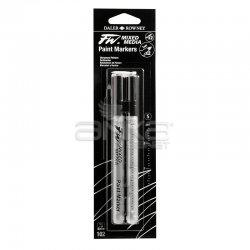 Daler Rowney - Daler Rowney FW Mixed Media Paint Marker Sets 102 1mm Sert Uç (S) (1)