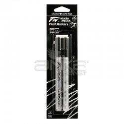 Daler Rowney - Daler Rowney FW Mixed Media Paint Marker Sets 103 1-2mm Yuvarlak Uç (S)