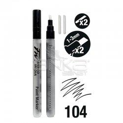 Daler Rowney - Daler Rowney FW Mixed Media Paint Marker Sets 104 1-3mm Kesik Uç (S) (1)