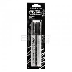 Daler Rowney - Daler Rowney FW Mixed Media Paint Marker Sets 201 1-2mm Yuvarlak Uç (M)
