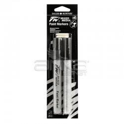 Daler Rowney - Daler Rowney FW Mixed Media Paint Marker Sets 203 2-6mm Kesik Uç (M)