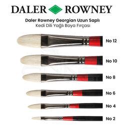 Daler Rowney - Daler Rowney Georgian Uzun Saplı Kedi Dili Fırça