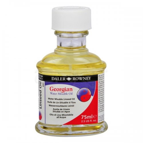 Daler Rowney Georgian Water Mixable Linseed Oil 75ml