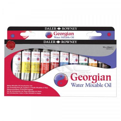 Daler Rowney Georgian Water Mixable Yağlı Boya Introduction Set