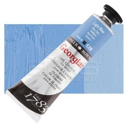 Daler Rowney - Daler Rowney Georgian Yağlı Boya 38ml 128 Light Blue