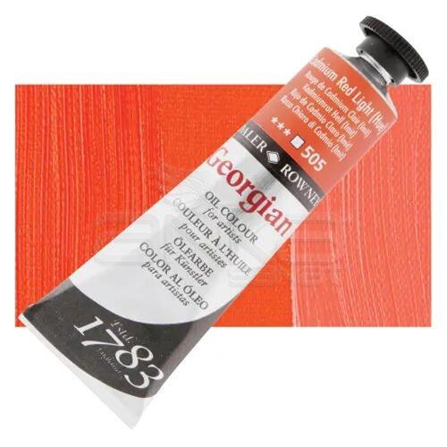 Daler Rowney Georgian Yağlı Boya 38ml No:505 Cadmium Red Light (Hue) - 505 Cadmium Red Light (Hue)