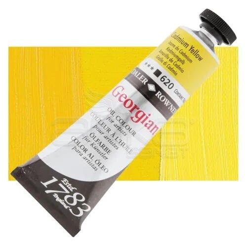 Daler Rowney Georgian Yağlı Boya 38ml No:620 Cadmium Yellow - 620 Cadmium Lemon (Hue)