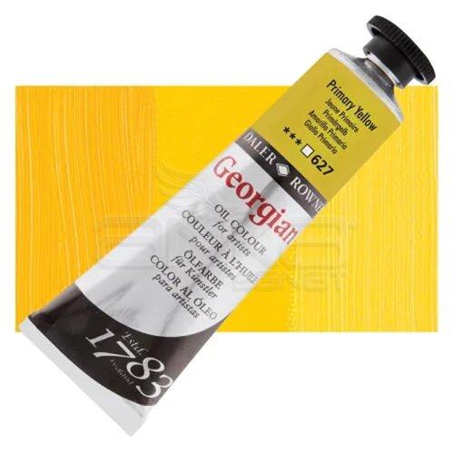 Daler Rowney Georgian Yağlı Boya 38ml No:627 Primary Yellow - 627 Primary Yellow
