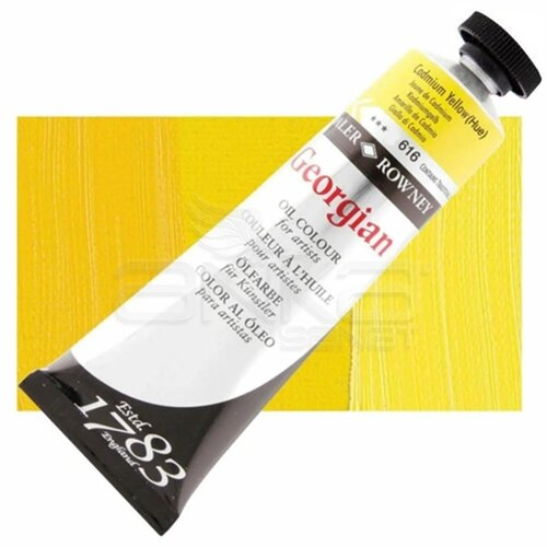 Daler Rowney Georgian Yağlı Boya 38ml 616 Cadmium Yellow Hue - 616 Cadmium Yellow Hue