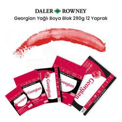Daler Rowney - Daler Rowney Georgian Yağlı Boya Blok 290g 12 Yaprak