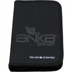 Daler Rowney Graduate Akrilik Boya Fırça Seti 10lu Çantalı 212500100 - Thumbnail