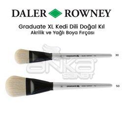 Daler Rowney - Daler Rowney Graduate XL Kedi Dili Doğal Kıl Fırça