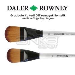 Daler Rowney - Daler Rowney Graduate XL Kedi Dili Yumuşak Sentetik Fırça