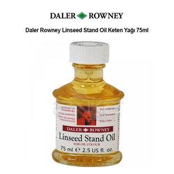 Daler Rowney Linseed Stand Oil Keten Yağı 75ml - Thumbnail