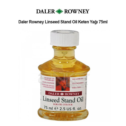 Daler Rowney Linseed Stand Oil Keten Yağı 75ml