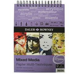 Daler Rowney Mixed Media 250g 30 Yaprak - Thumbnail