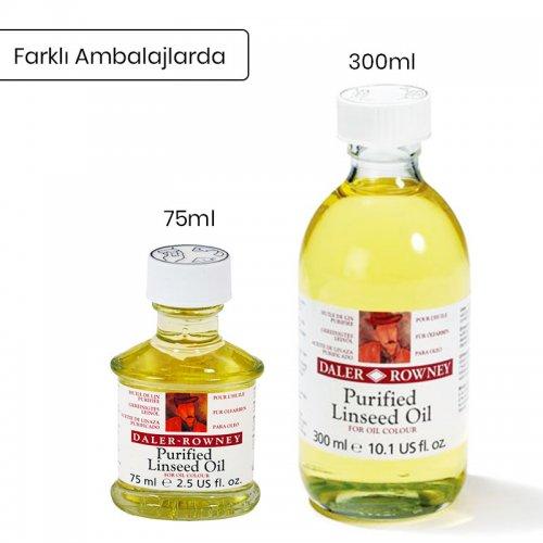 Daler Rowney Purified Linseed Oil Saflaştırılmış Keten Yağı