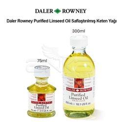 Daler Rowney Purified Linseed Oil Saflaştırılmış Keten Yağı - Thumbnail