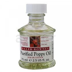 Daler Rowney - Daler Rowney Purified Poppy Oil Saflaştırılmış Haşhaş Yağı 75ml (1)