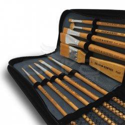 Daler Rowney Simply Acrylic Gold Fırça Seti Çantalı - Thumbnail