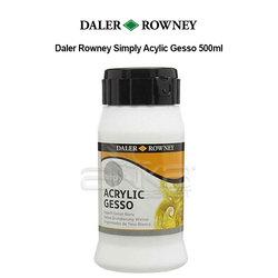 Daler Rowney - Daler Rowney Simply Acrylic Gesso 500ml