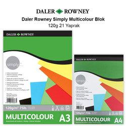 Daler Rowney Simply Multicolour Blok 120g 21 Yaprak - Thumbnail