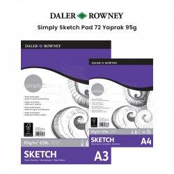 Daler Rowney Simply Sketch Pad 72 Yaprak 95g - Thumbnail