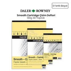 Daler Rowney - Daler Rowney Smooth Cartridge Çizim Defteri 130g 30 Yaprak