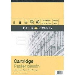 Daler Rowney - Daler Rowney Smooth Cartridge Çizim Defteri 130g 30 Yaprak (1)