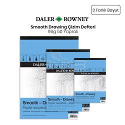 Daler Rowney - Daler Rowney Smooth Drawing Çizim Defteri 96g 50 Yaprak