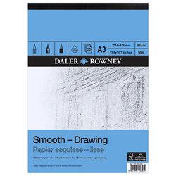 Daler Rowney - Daler Rowney Smooth Drawing Çizim Defteri 96g 50 Yaprak (1)
