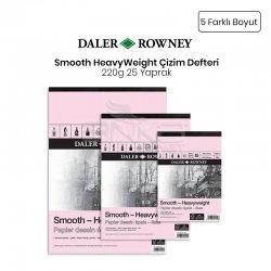 Daler Rowney - Daler Rowney Smooth HeavyWeight 220g 25 Yaprak