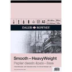 Daler Rowney Smooth HeavyWeight 220g 25 Yaprak - Thumbnail