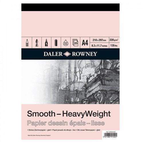 Daler Rowney Smooth HeavyWeight 220g 25 Yaprak