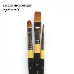 Daler Rowney - Daler Rowney System 3 Acrylic Fırça Seti 300 (1)